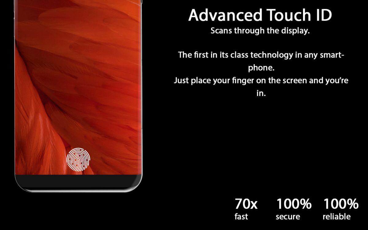 iPhone 8 X 2017 concept Tejas Pawar 4 - iPhone 8 : un concept au design très proche du Samsung Galaxy S8