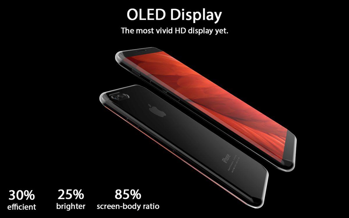 iPhone 8 X 2017 concept Tejas Pawar 5 - iPhone 8 : un concept au design très proche du Samsung Galaxy S8