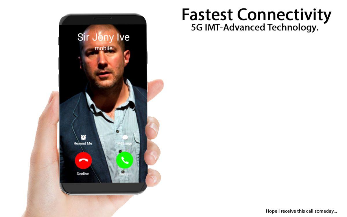 iPhone 8 X 2017 concept Tejas Pawar 7 - iPhone 8 : un concept au design très proche du Samsung Galaxy S8