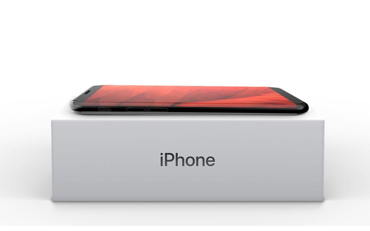 iPhone 8 X 2017 concept Tejas Pawar 8 - iPhone 8 : un concept au design très proche du Samsung Galaxy S8