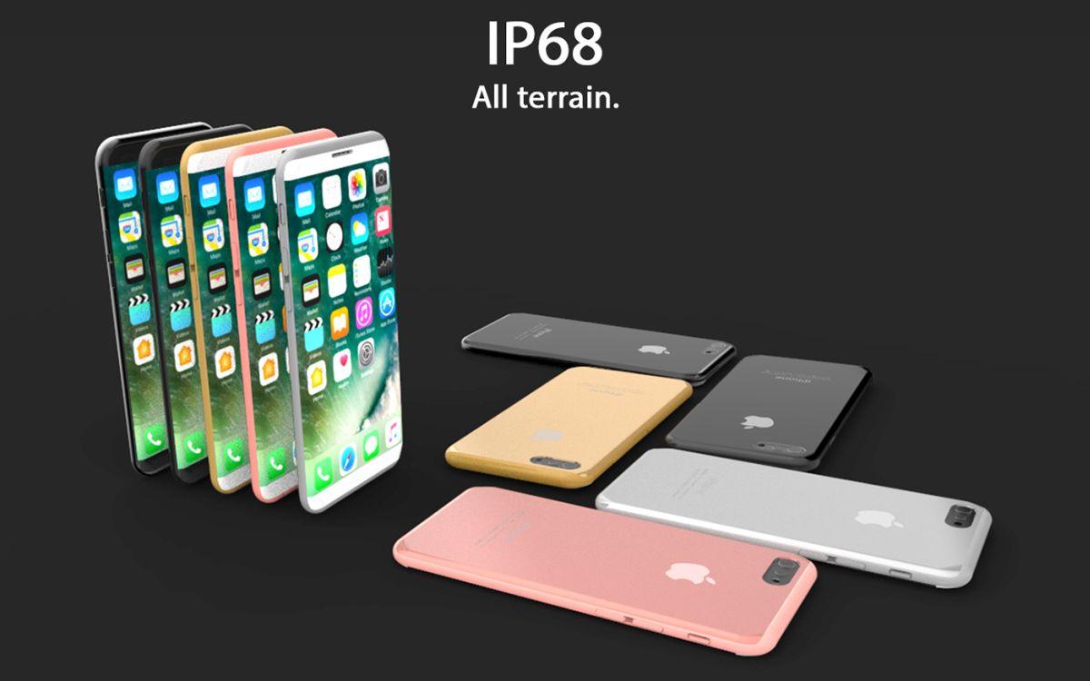 iPhone 8 X 2017 concept Tejas Pawar 9 - iPhone 8 : un concept au design très proche du Samsung Galaxy S8