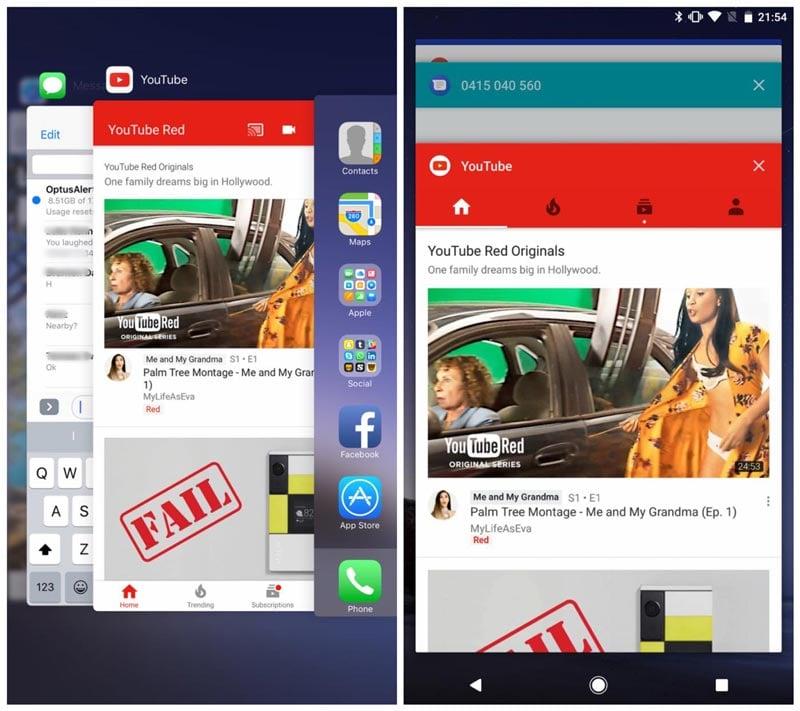 ios 10 vs android o comparatif 06 - iOS 10 vs Android O : les différences entre les 2 OS en images