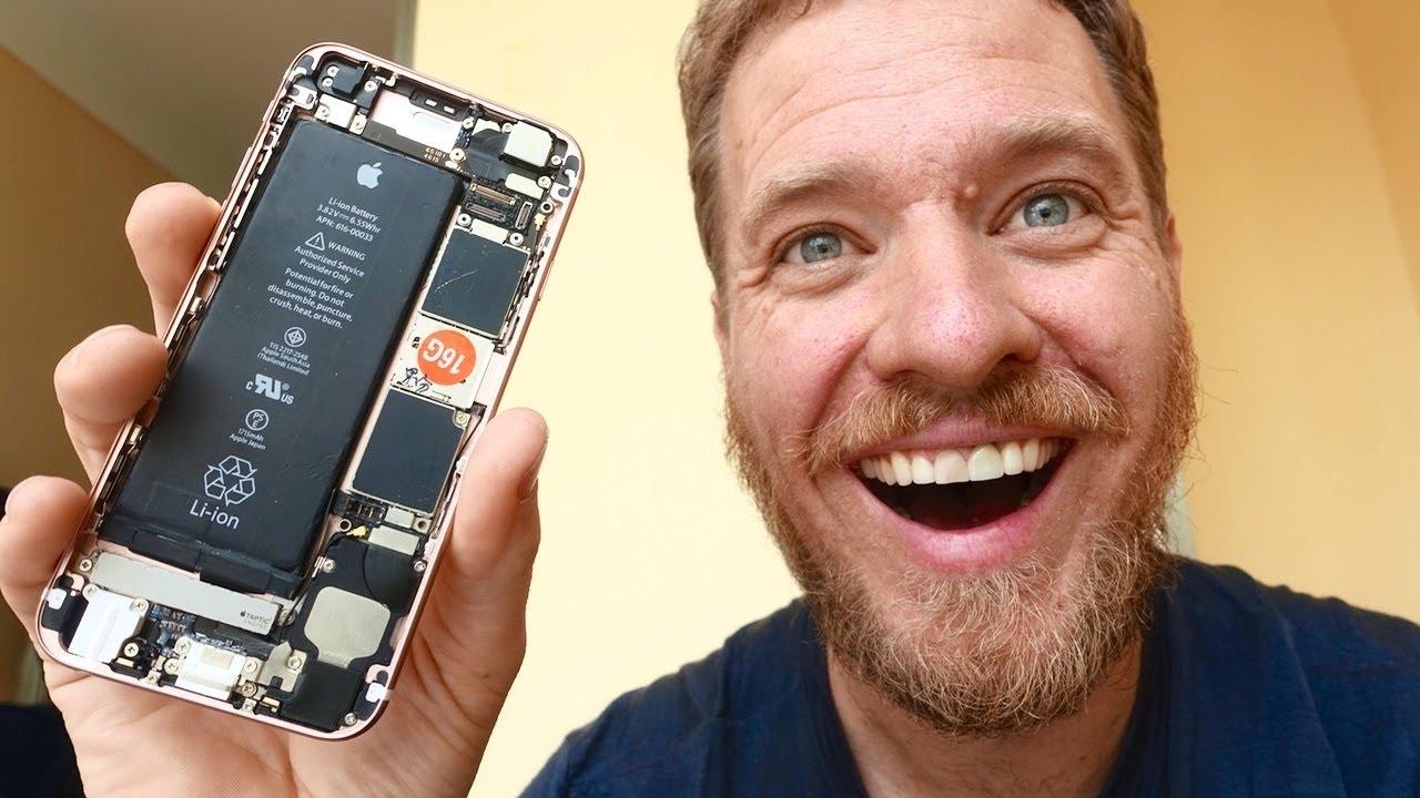 iphone 6s fabrique 300 dollars - Insolite : il a fabriqué son propre iPhone 6S pour seulement 300$
