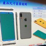 iPhone 8 : un schéma dévoile les dimensions et le Touch ID à l'arrière