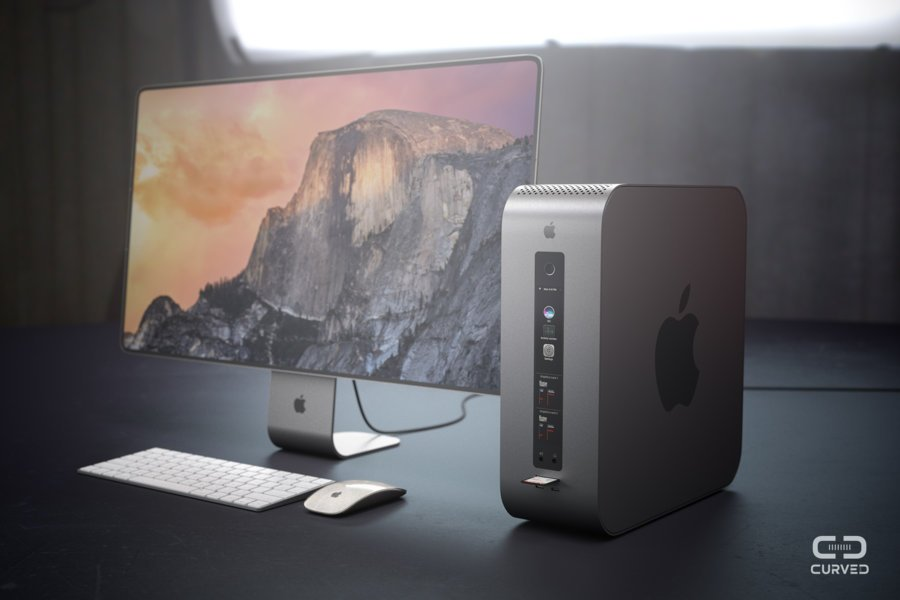 mac pro modulaire concept - Mac Pro : un concept futuriste imagine un ordinateur Apple modulaire