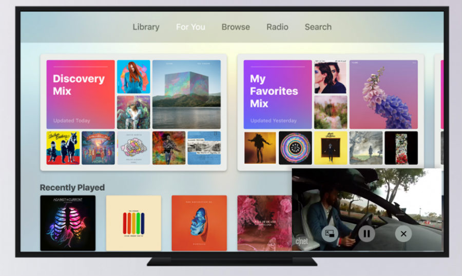 picture in picture apple tv tvos 11 concept - Apple TV (tvOS 11) : multi-utilisateurs & mode Picture-in-Picture ?