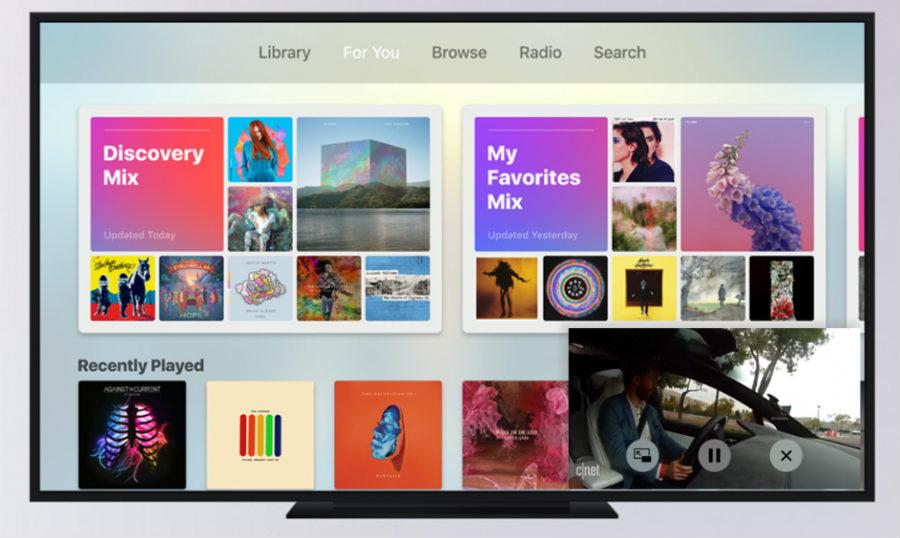 Apple TV (tvOS 11) : multi-utilisateurs & mode Picture-in-Picture ?