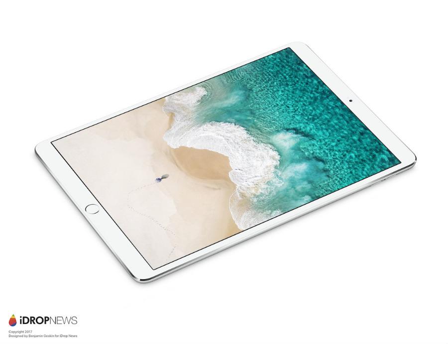 2017 iPad Pro 2 iDrop News 2 - iPad Pro 10,5 pouces : de nouveaux rendus avant la WWDC 2017