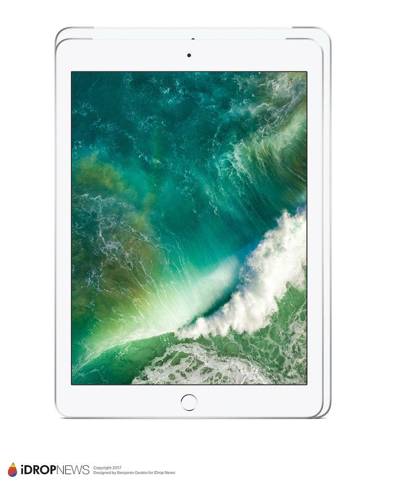 2017 iPad Pro 2 iDrop News 3 - iPad Pro 10,5 pouces : de nouveaux rendus avant la WWDC 2017
