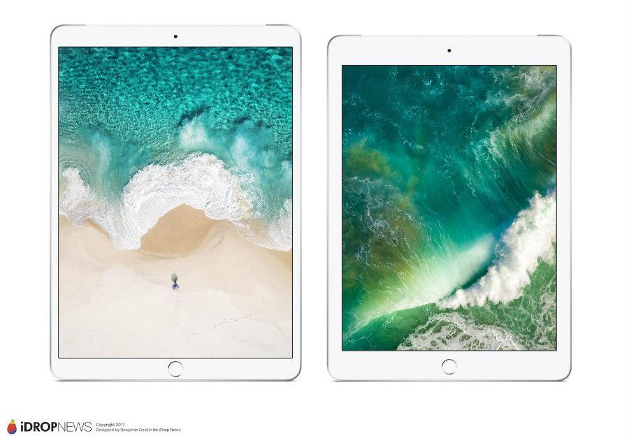 2017 iPad Pro 2 iDrop News 5 - iPad Pro 10,5 pouces : de nouveaux rendus avant la WWDC 2017