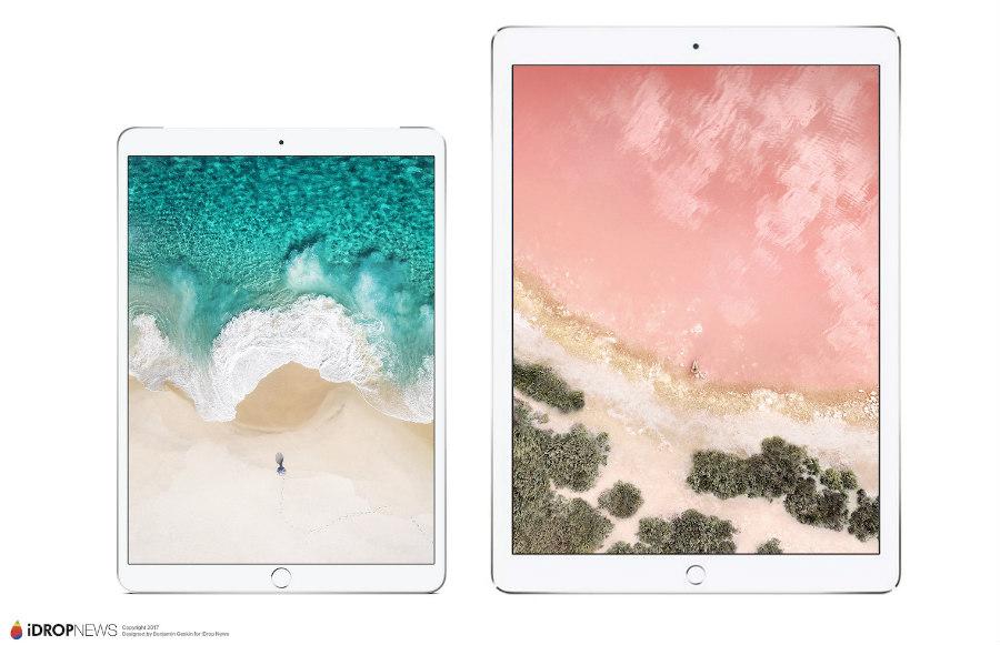 iPad Pro 10,5 pouces : de nouveaux rendus avant la WWDC 2017