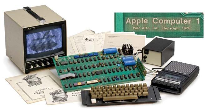 Apple 1 : un modèle fonctionnel vendu 101 000 dollars aux enchères