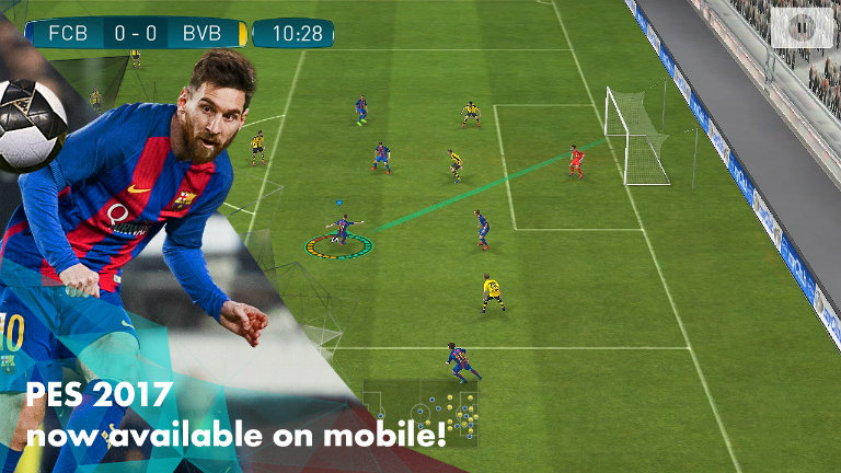 PES 2017 iPhone iPad - PES 2017 : sortie imminente sur iPhone & iPad