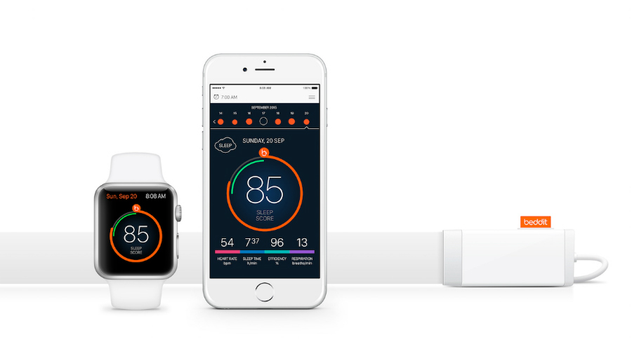beddit - Apple rachète Beddit, une application de suivi de sommeil
