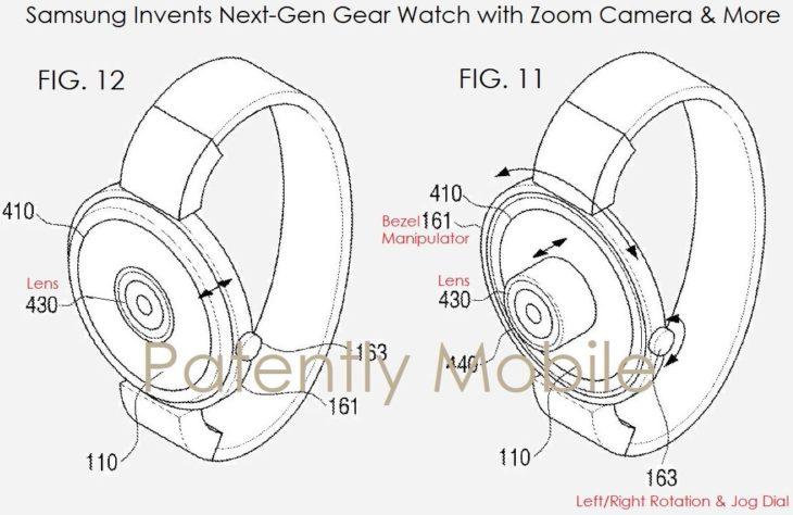 Apple Watch & Samsung Gear : bientôt un capteur photo pour les selfies ?