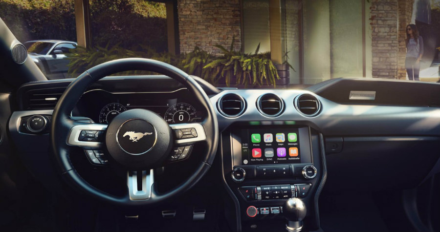 carplay ford mustang - CarPlay & Android Auto : les voitures Ford de 2016 désormais compatibles