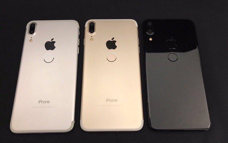 clones iphone 8 chine - iPhone 8 : des photos de clones chinois avec Touch ID arrière