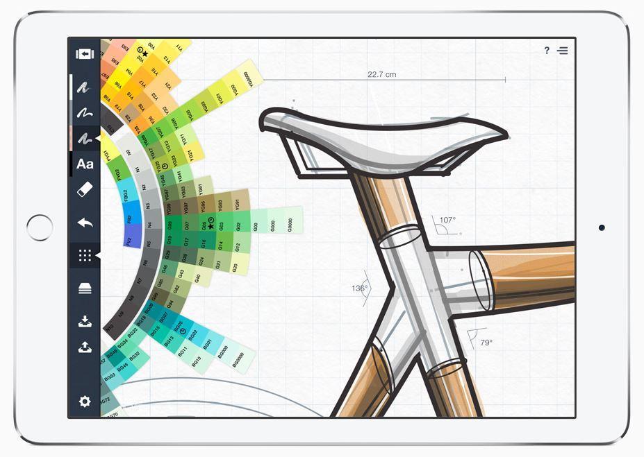 iPad pro croquis - Les futurs iPad Pro à la rescousse d'un marché en déclin ?
