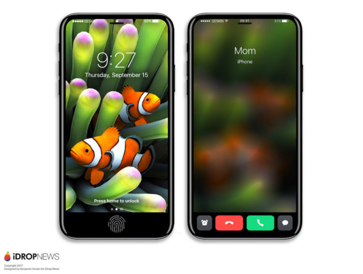 iPhone 8 : Touch ID arrière, meilleure qualité sonore et AirPods offerts ?
