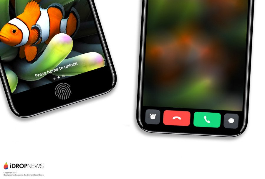 "iPhone 8 Function Area iDrop News Exclusive 6 - iPhone 8 : un concept axé sur la ""zone de fonction"""