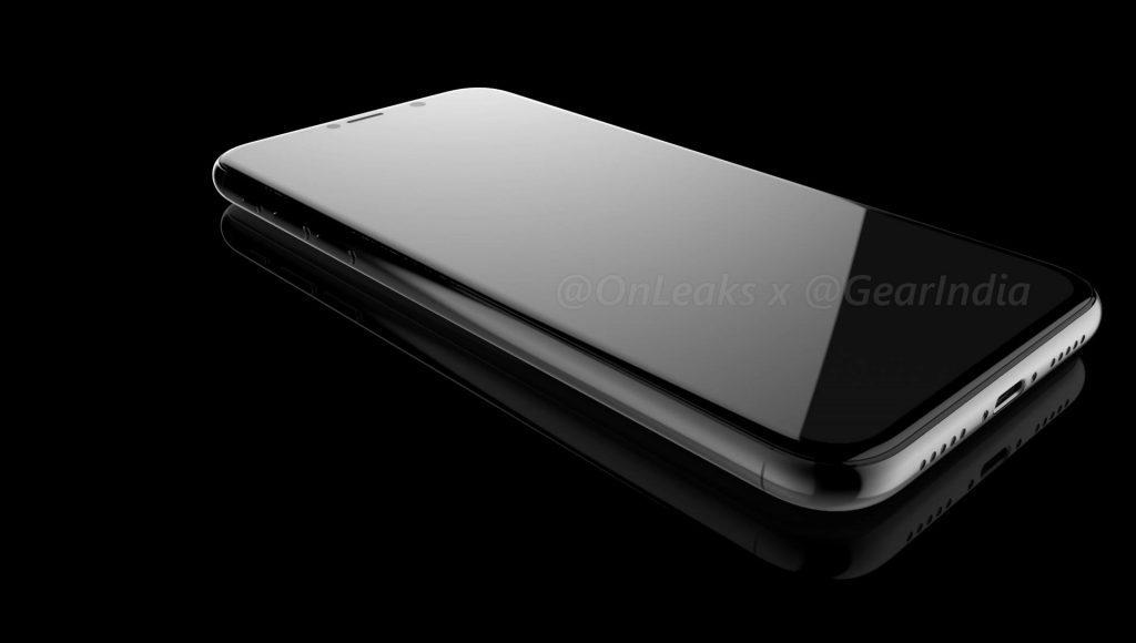 iPhone 8 onleaks rendu 1024x580 - iPhone 8 : un rendu tout en verre basé sur les derniers schémas