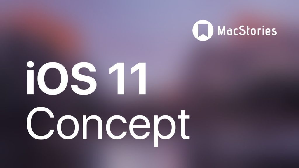 iOS 11 : un concept sur iPad centré sur les fonctionnalités