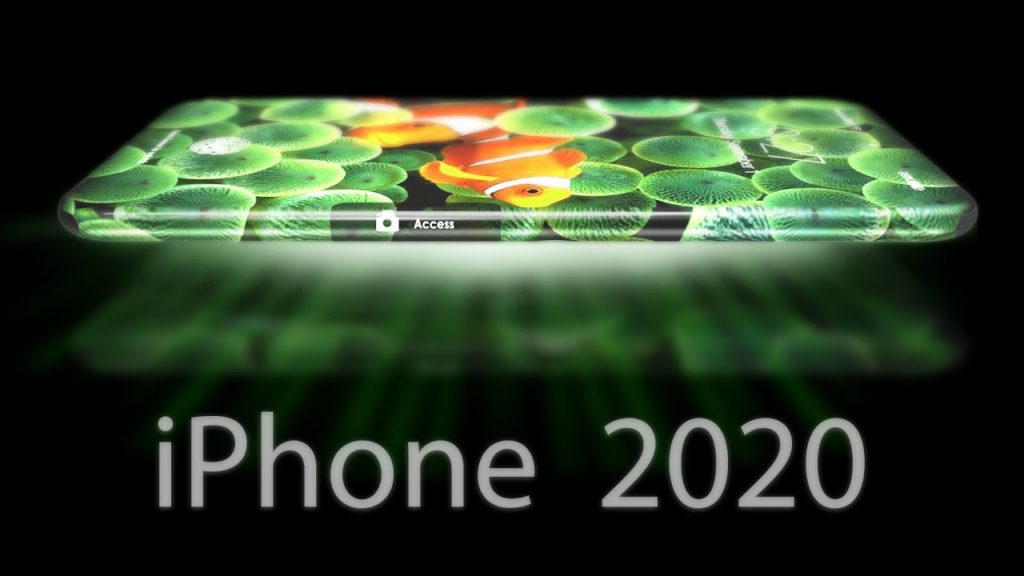 iphone 2020 concept apple 1024x576 - Concept : un écran à 360° sur l'iPhone de 2020 ?