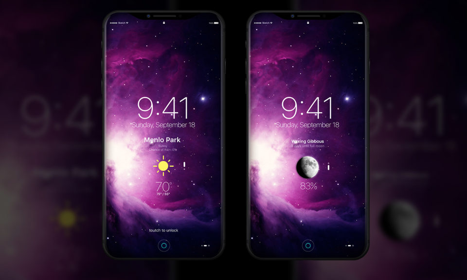 iphone 8 2017 design concept 4 - iPhone 8 : un concept sous iOS 11 en attendant la WWDC 2017