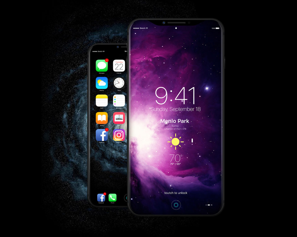 iphone 8 2017 design concept 5 - iPhone 8 : un concept sous iOS 11 en attendant la WWDC 2017