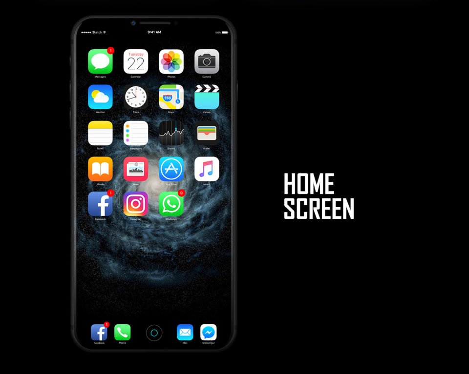 iphone 8 2017 design concept 6 - iPhone 8 : un concept sous iOS 11 en attendant la WWDC 2017