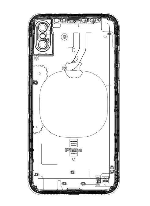 iphone 8 schema geskin recharge sans fil - iPhone 8 : un nouveau schéma semble confirmer la recharge sans fil