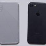 iPhone 8 : une maquette comparée à l'iPhone 7 en vidéo