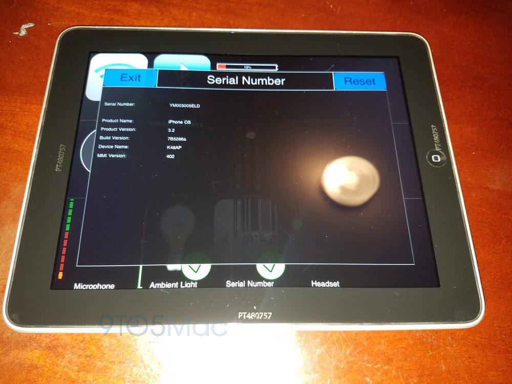 iPad : des photos d'un prototype fonctionnel du premier modèle