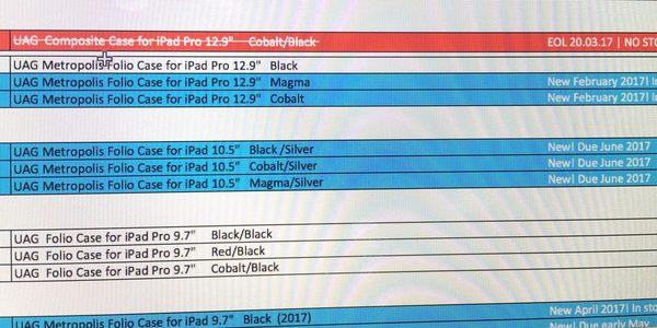 Apple : sortie d'un nouvel iPad 10,5 pouces le mois prochain ?