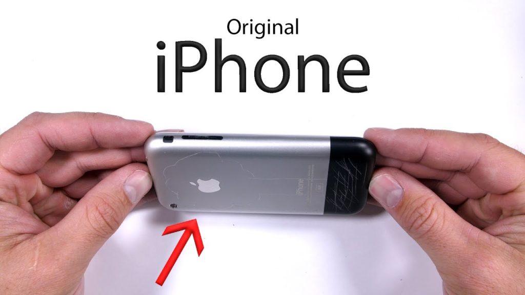 test iphone 2g edge resistance 1024x576 - Le tout premier iPhone maltraité dans un test de résistance