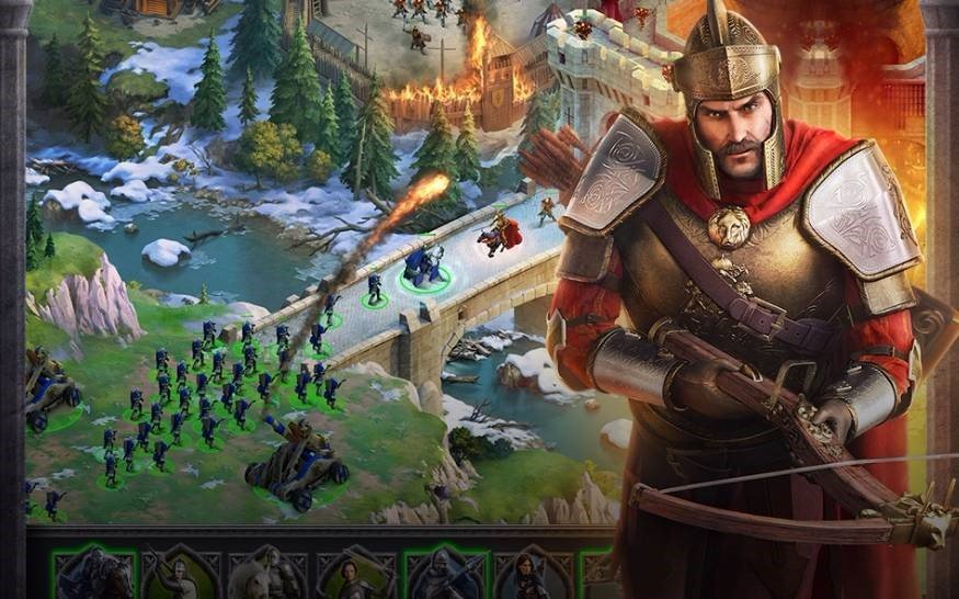 throne kingdom at war - Throne : Kingdom At War, le succès sur mobile s'invite sur les navigateurs