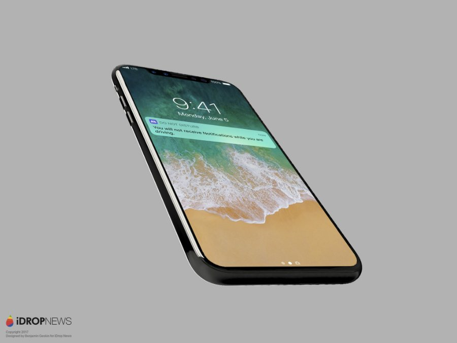 Concept iPhone 8 iOS 11 iDrop News 3 - iPhone 8 : un concept sur lequel tourne iOS 11