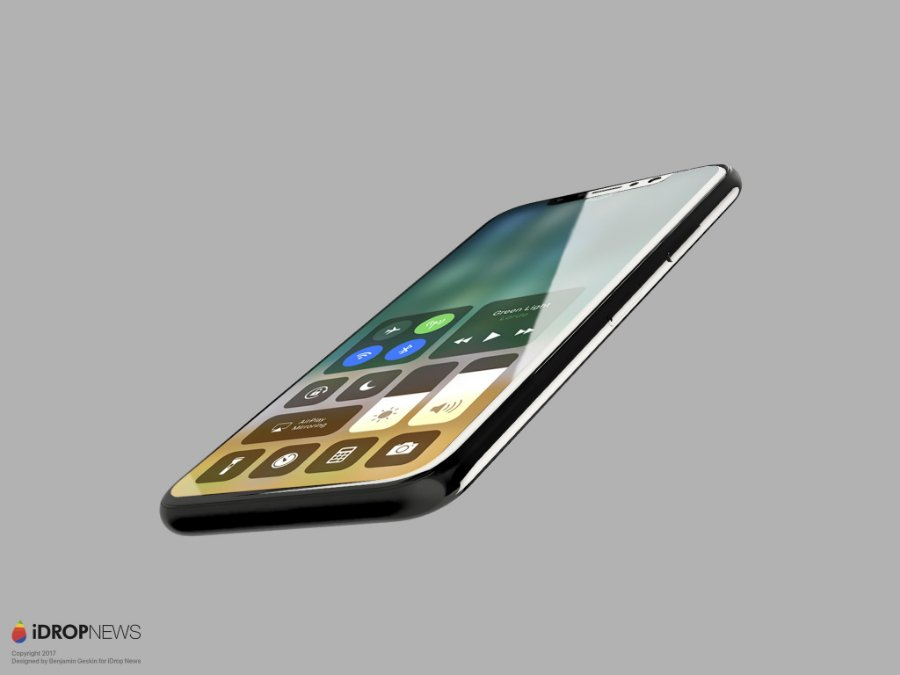 Concept iPhone 8 iOS 11 iDrop News 4 - iPhone 8 & iPhone 7S : début de production des composants