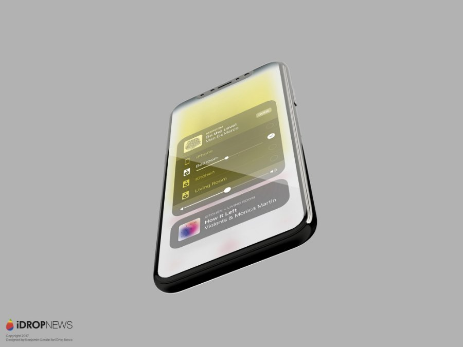 Concept iPhone 8 iOS 11 iDrop News 5 - iPhone 8 : un concept sur lequel tourne iOS 11