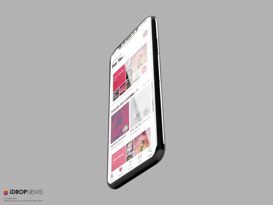 Concept iPhone 8 iOS 11 iDrop News 7 - iPhone 8 : la réalité augmentée serait bien au programme