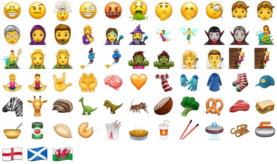 iOS 11 : découvrez les 69 nouveaux Emoji !