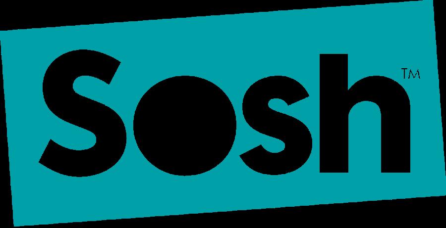 Logo Sosh - Sosh : un forfait 4G 40 Go à 9,99€/mois pendant 1 an !