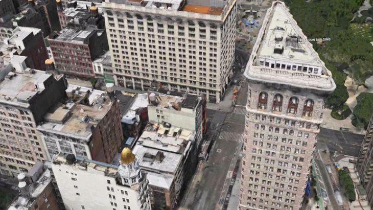 Plans sur iOS 11 : une nouvelle fonctionnalité AR/VR (3D) avec FlyOver