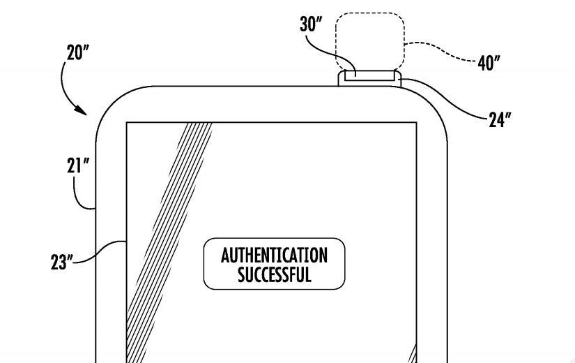 brevet apple iphone touch id bouton alimentation - Brevet iPhone : un capteur Touch ID intégré dans le bouton d'alimentation