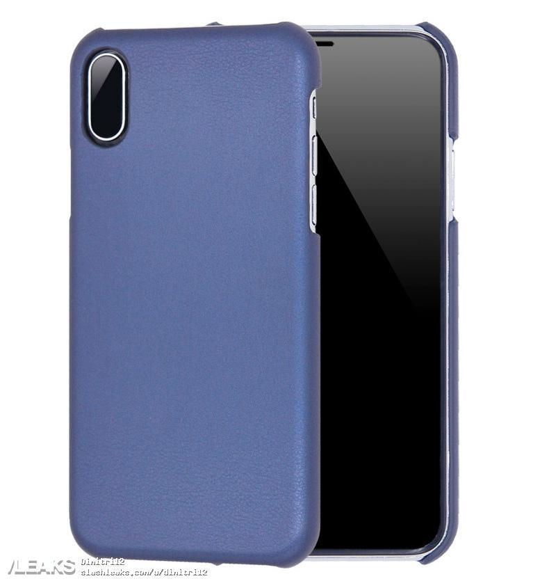 coque bleue iphone 8 leak - iPhone 8 : maquette avec coque de protection, nouveaux rendus 3D