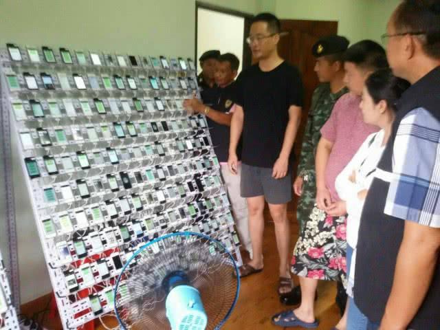 Asie : une ferme à clics avec 474 iPhone & 347200 cartes SIM découverte