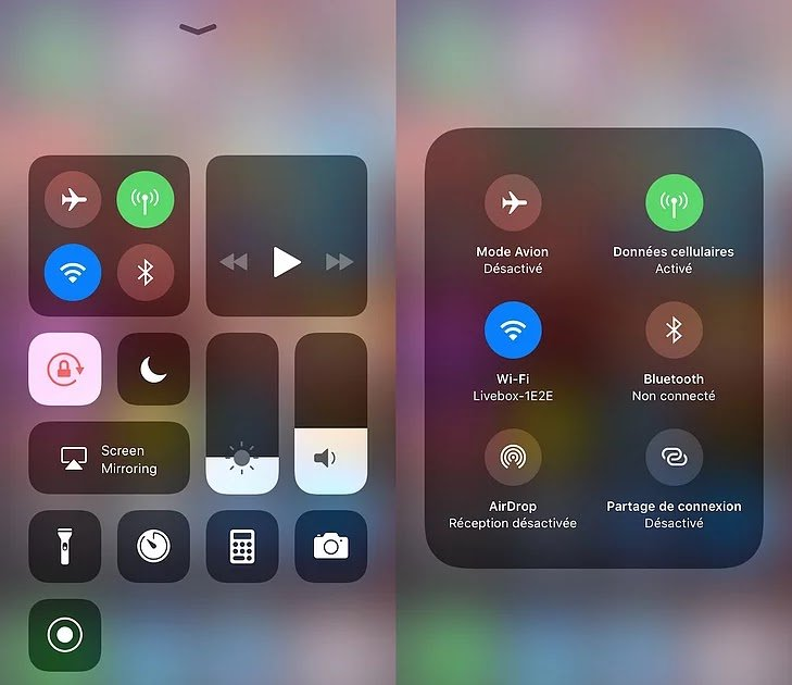iOS 11 Beta Centre de Controle - Jailbreak : le tweak Cydia Eleven apporte l'interface d'iOS 11 à iOS 10