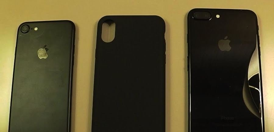 iPhone 8 coque comparaison iphone 7 7 plus - iPhone 8 : une prétendue coque testée sur l'iPhone 7 & l'iPhone 7 Plus