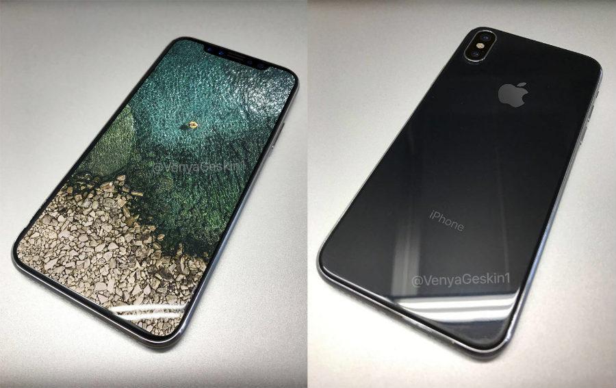 iphone 8 concept geskin allume - iPhone 8 : un sublime concept avec l'écran OLED allumé