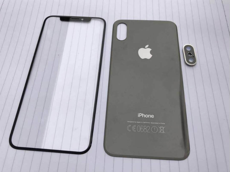 iphone 8 facade avant arriere - Apple : un fournisseur confirme un dos en verre sur les iPhone 8 & 7S
